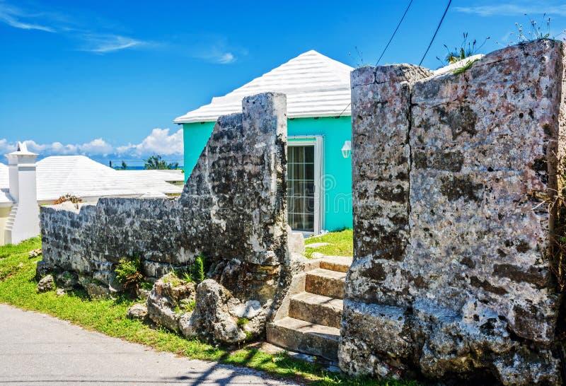 Bermuda velha e nova imagens de stock