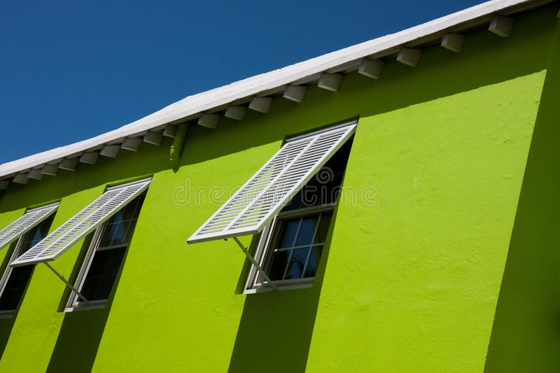 Bermudian architecture stock photography