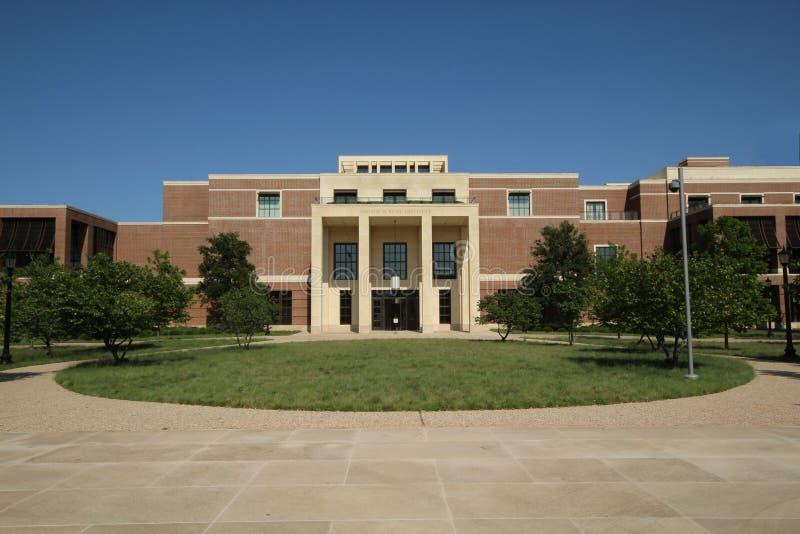 bern carolina dixon george hus ny norr w Bush institut, Dallas Texas royaltyfria bilder