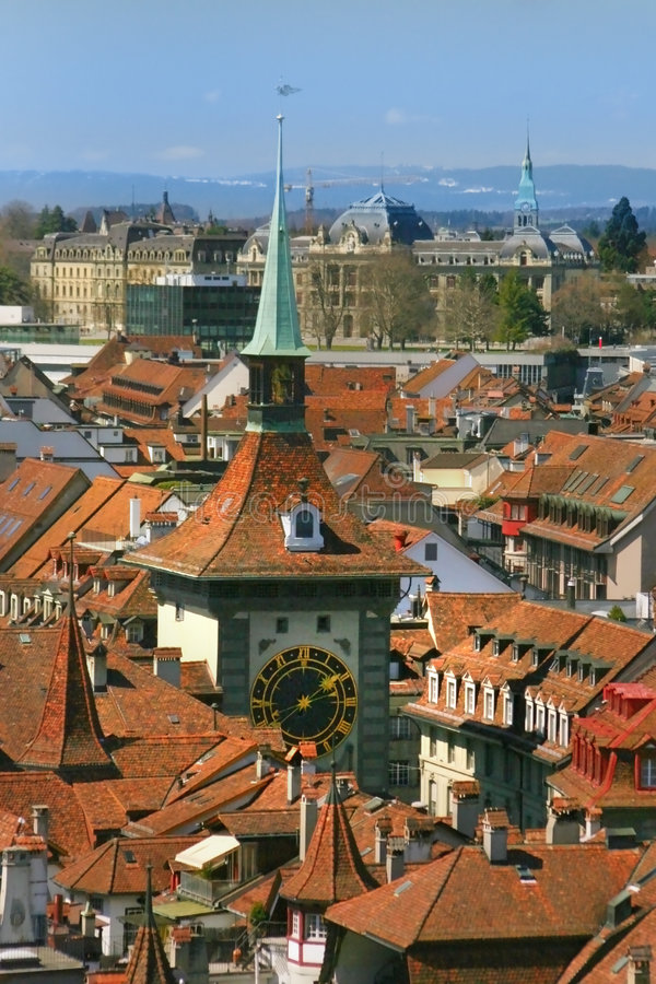 Bern in close up stock photography