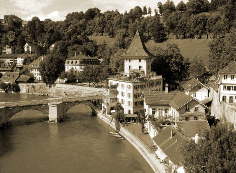 Download Bern, De Hoofdstad Van Zwitserland Stock Foto - Afbeelding bestaande uit kaart, mooi: 10776546