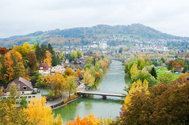 Bern im Herbst stockfotos
