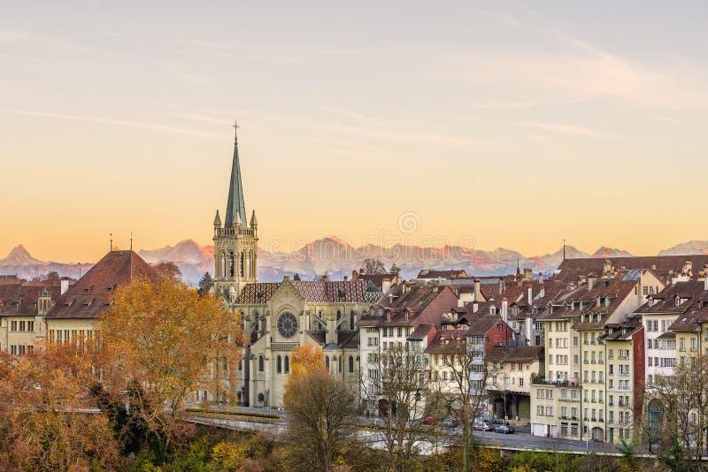 Bern im Herbst stockbilder