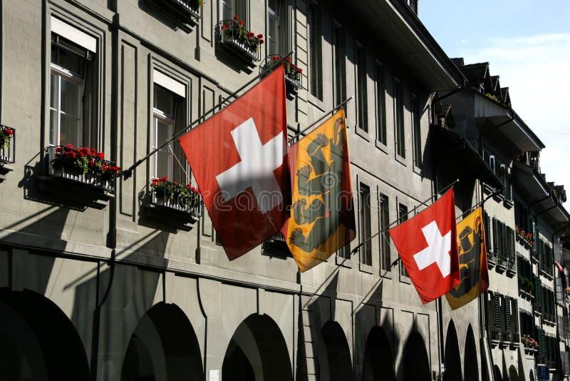 Bern-Straße lizenzfreie stockbilder