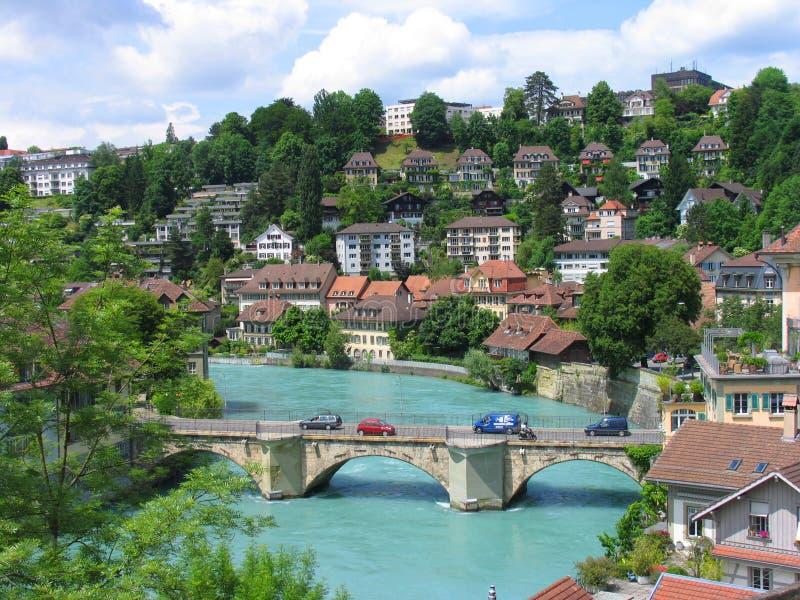 Download Bern, Switzerland stock image. Image of clock, nydeggkirche - 20662197