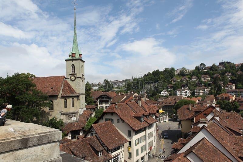 Download Bern.Vid de oude stad. stock afbeelding. Afbeelding bestaande uit landschap - 39104117