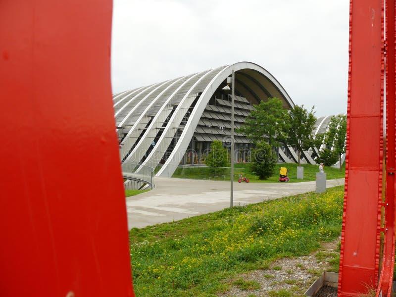 Bern, Zwitserland 08/02/2009 Paul Klee Center stock foto