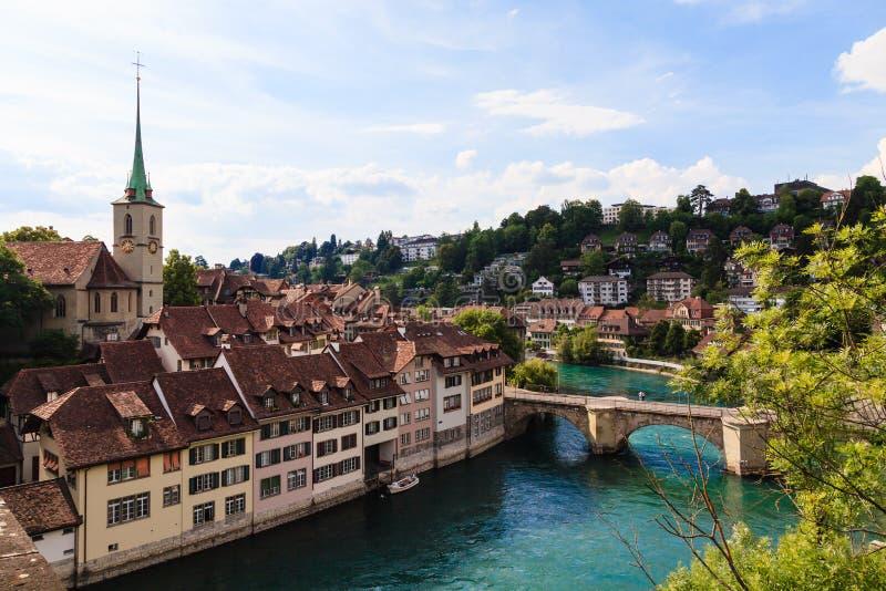Berna, capitale della Svizzera, sito del patrimonio mondiale fotografia stock