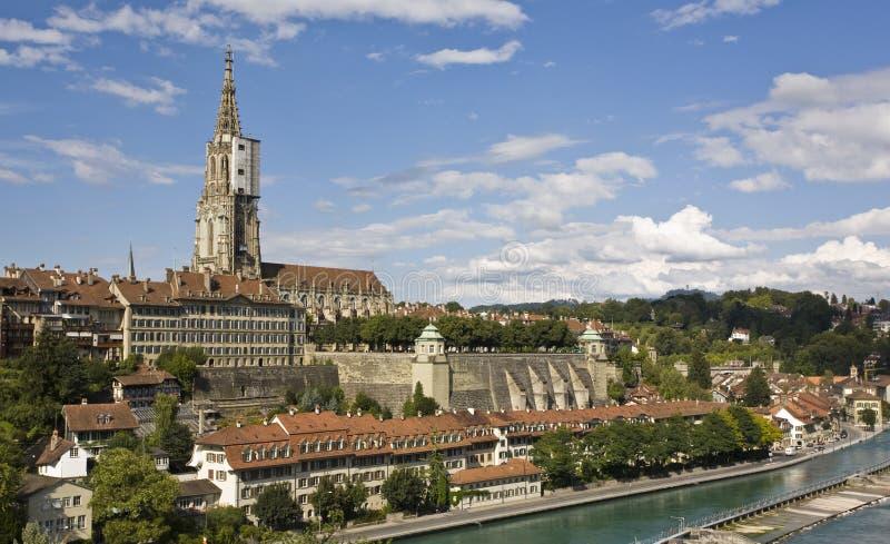 Berna - capitolio de Suiza fotos de archivo