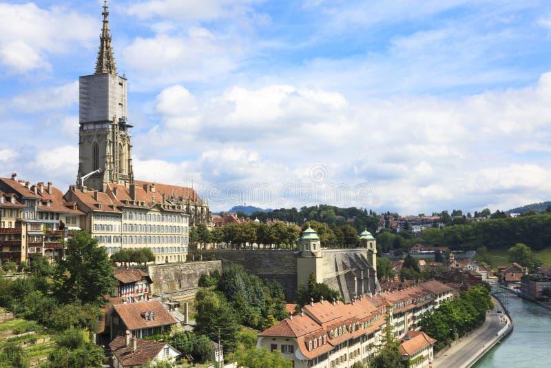 Berna, il capitale della Svizzera. fotografia stock libera da diritti