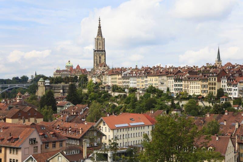 Berna, il capitale della Svizzera. fotografie stock libere da diritti