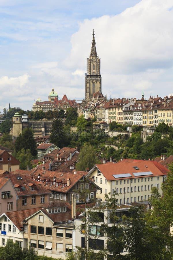 Berna, il capitale della Svizzera. immagine stock