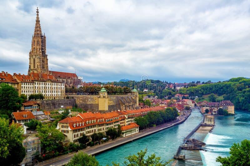 Berna, la capitale della Svizzera immagine stock