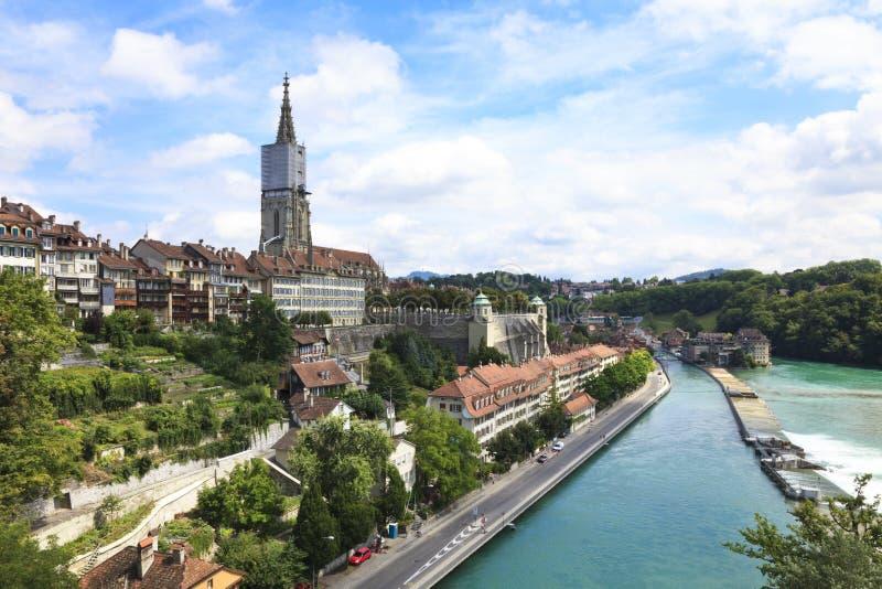 Berna, o capital de Switzerland. foto de stock
