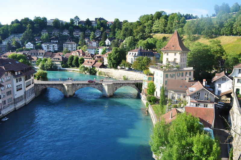 Berna, Suíça foto de stock royalty free