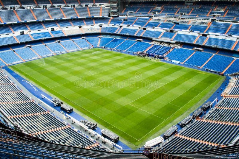 bernabeu马德里实际圣地亚哥体育场 库存图片