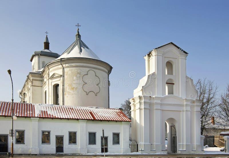 Bernardine Church de la Inmaculada Concepción en Slonim belarus imagen de archivo libre de regalías