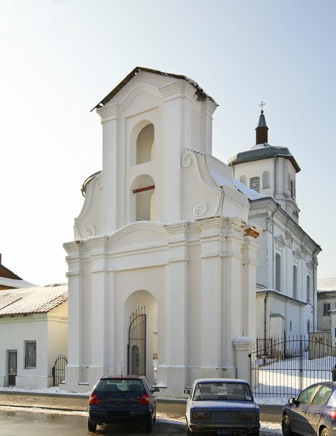 Bernardine Church de la Inmaculada Concepción en Slonim belarus foto de archivo