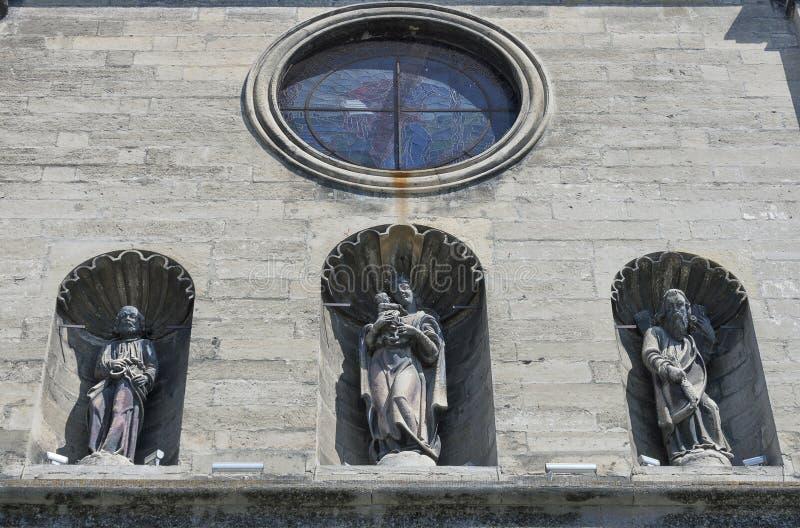 Bernardine Church en Klooster in Lviv, de Oekraïne stock foto