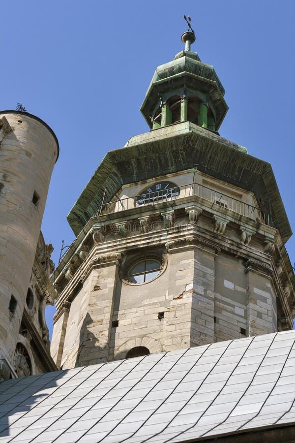 Bernardine Church en Klooster in Lviv, de Oekraïne royalty-vrije stock fotografie