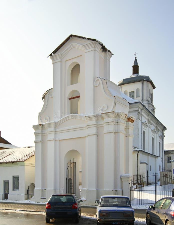 Bernardine Church van de Onbevlekte Ontvangenis in Slonim wit-rusland stock foto
