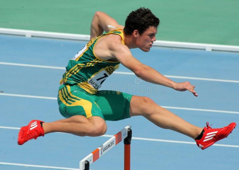 Bernardus Pretorius de África do Sul imagem de stock