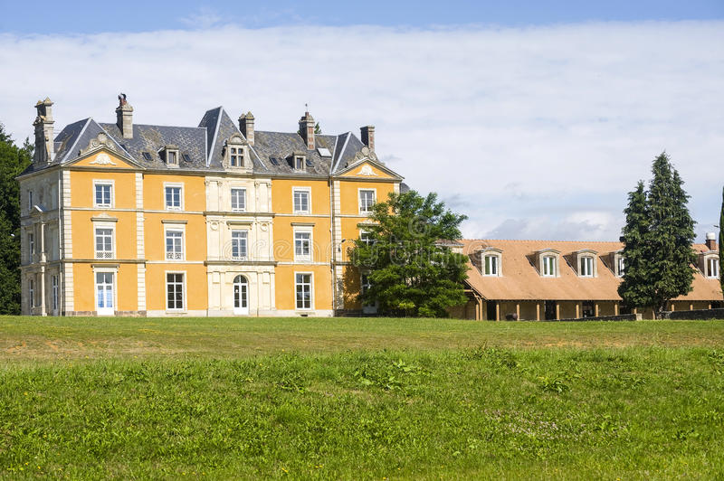 Bernay - Country House Royalty Free Stock Photo