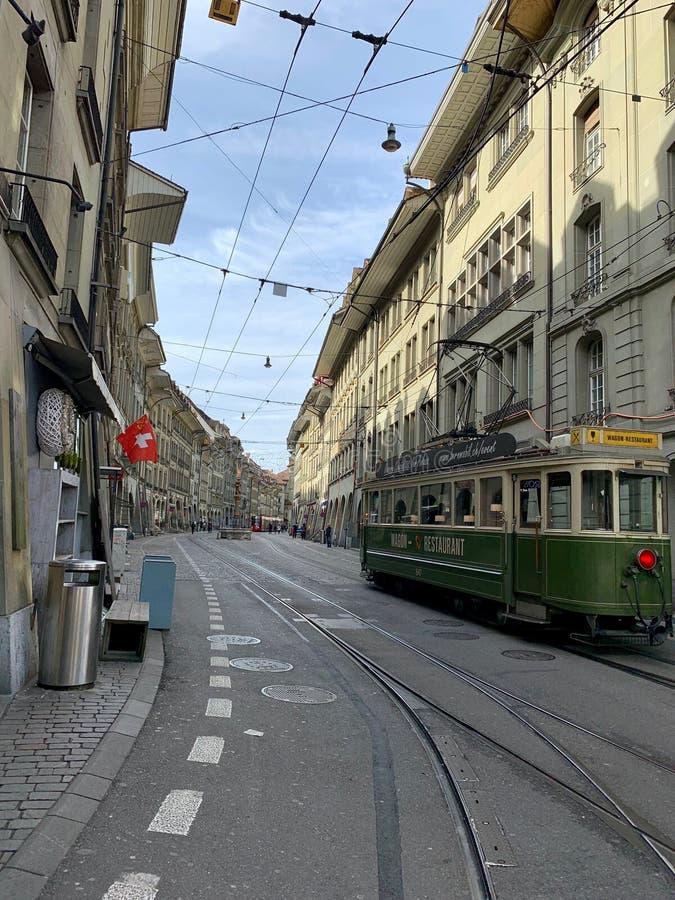 Berne, Suisse, Europa, rue, la vie, vacances photographie stock