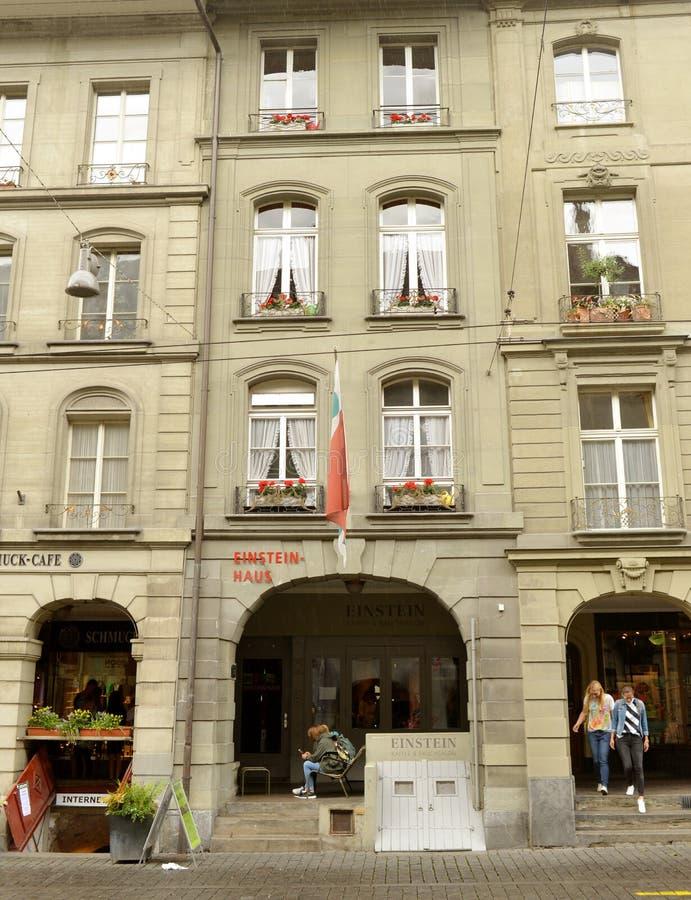 Berne, Suisse - 4 juin 2017 : Musée d'Albert Einstein dedans photo libre de droits
