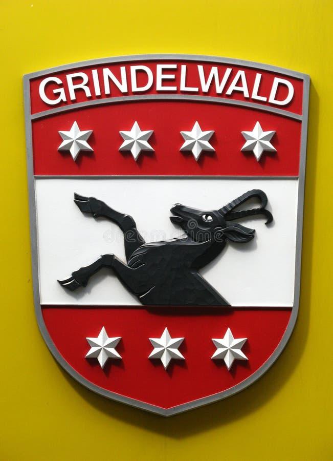 Berner Oberland, Shield 01 royalty free stock image
