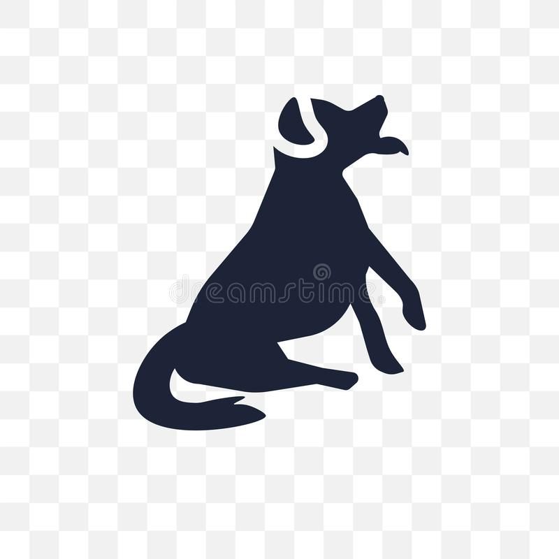 Bernese Mountain dog transparent icon. Bernese Mountain dog symbol design from Dogs collection. Simple element vector illustration on transparent background stock illustration