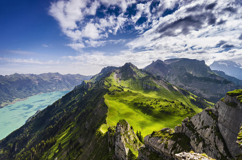 Download The Swiss Alps stock image. Image of alpine, luscious - 27858101