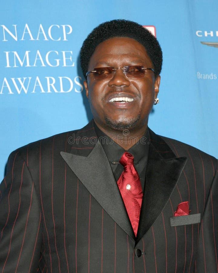 Bernie Mac. 37th NAACP Image Awards Shrine Auditorium Los Angeles, CA February 25, 2006 2006 Kathy Hutchins / Hutchins Photo V royalty free stock images