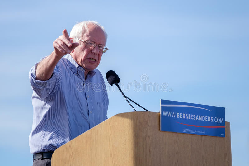 Bernie Sanders fotos de stock royalty free