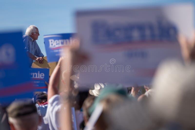 Bernie Sanders foto de archivo