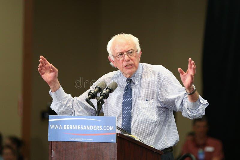 Bernie Sanders - medaljongmitt arkivbild