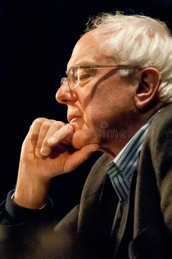 Bernie Sanders Portrait photos stock