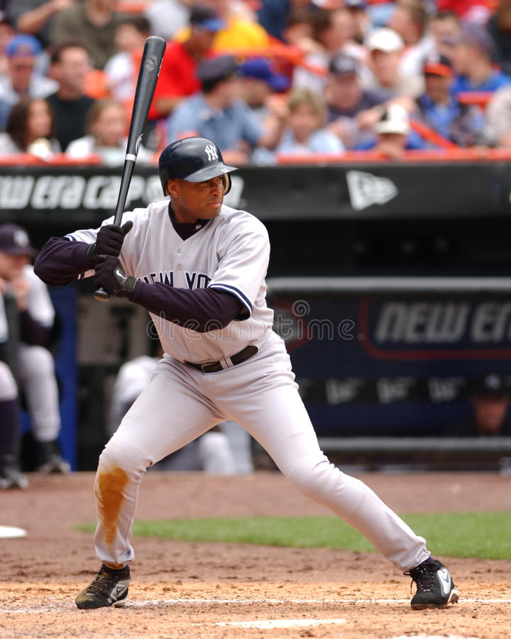Bernie Williams, New York Yankees DE photographie stock