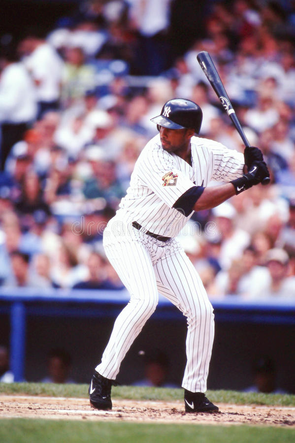 Bernie Williams New York Yankees royalty free stock images