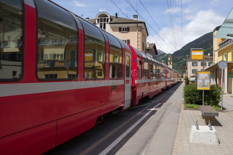 Bernina Express royalty free stock image