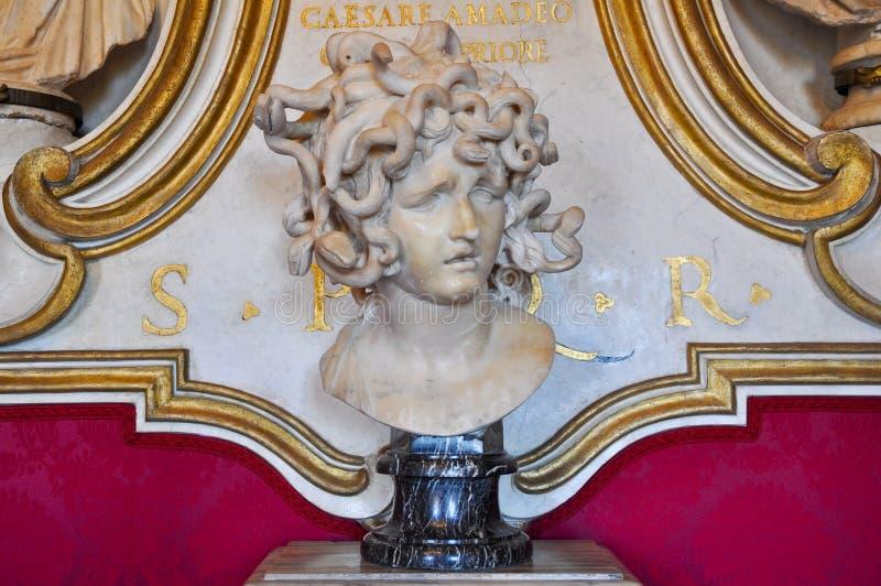 Bernini meduza w Rzym. Włochy. obrazy royalty free