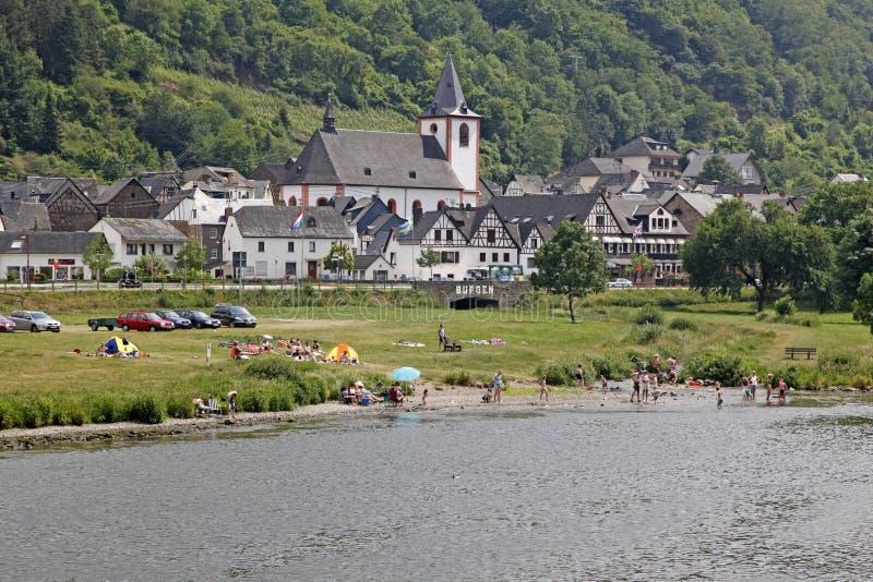 Bernkastel-Kues,德国 库存照片
