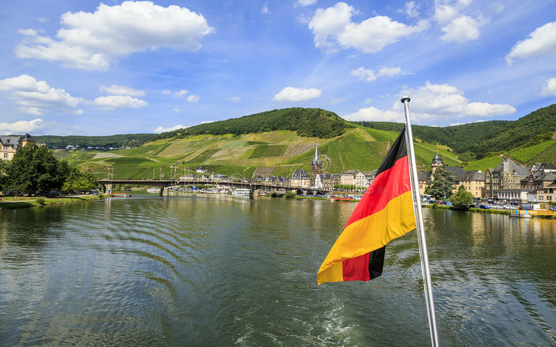 Bernkastel-Kues Duitsland stock foto's