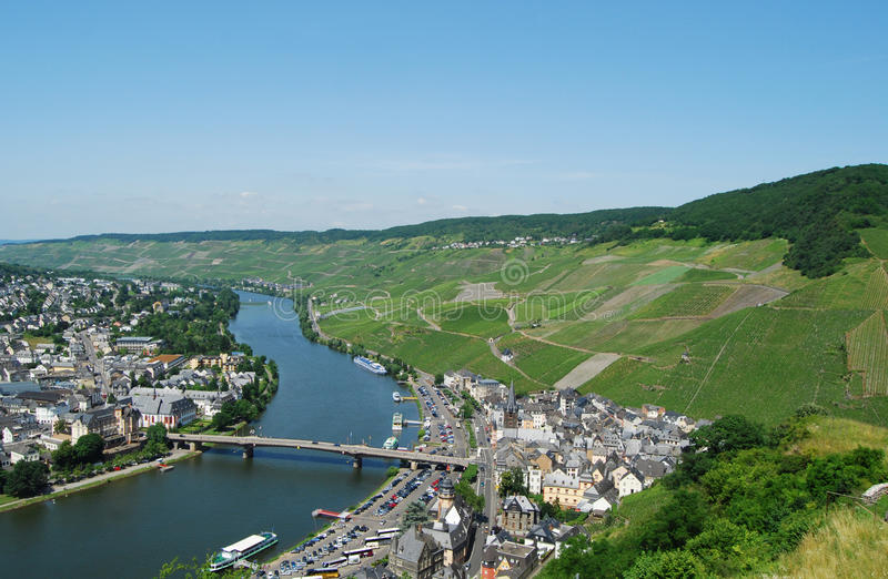 Bernkastel-Kues la Moselle photos stock