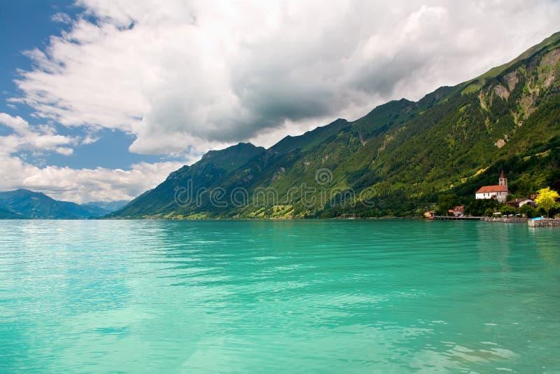 berno brienz lake kantonu Szwajcarii zdjęcie stock