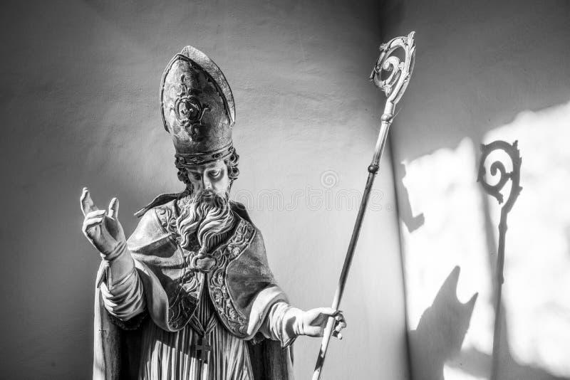 Beroemd benedictineklooster in Seligenstadt, Duitsland stock foto