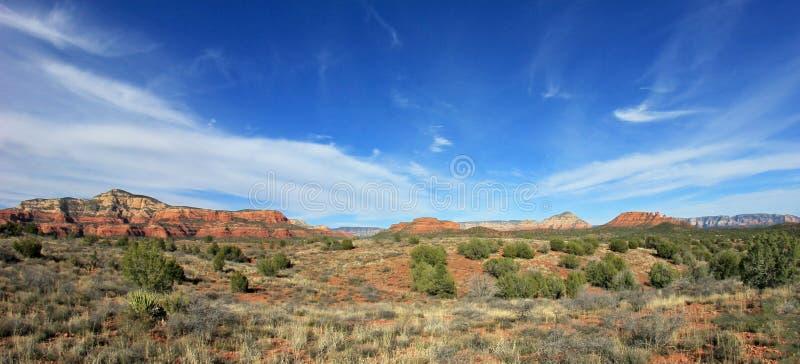 Beroemd Rood Rotslandschap, Sedona, Arizona, de V.S. royalty-vrije stock afbeelding