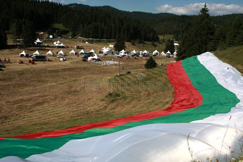 Beroemd rozhen folklorefestival in Bulgarije royalty-vrije stock foto