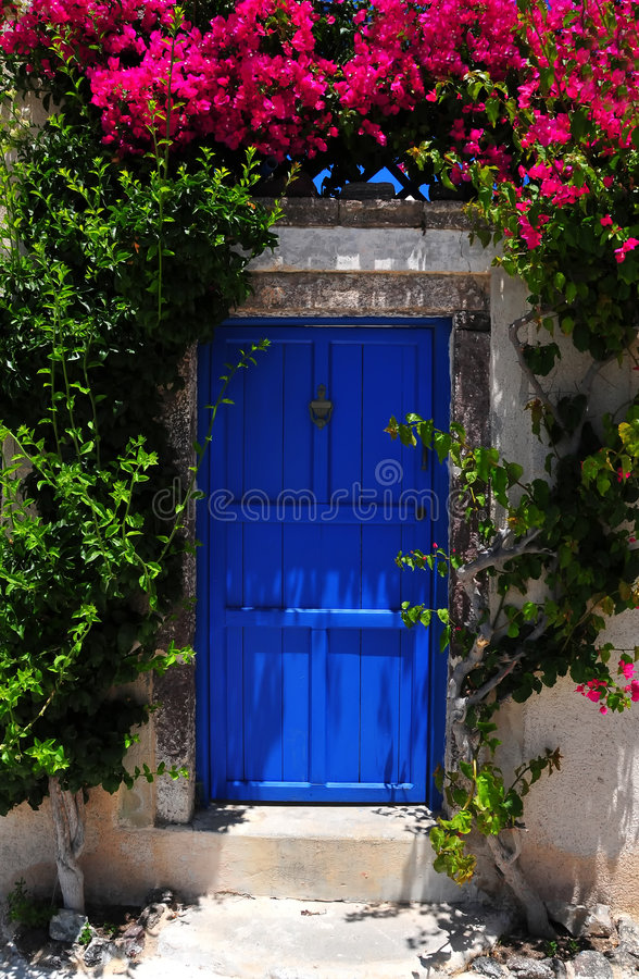 Beroemd Santorini eiland, Griekenland stock afbeeldingen