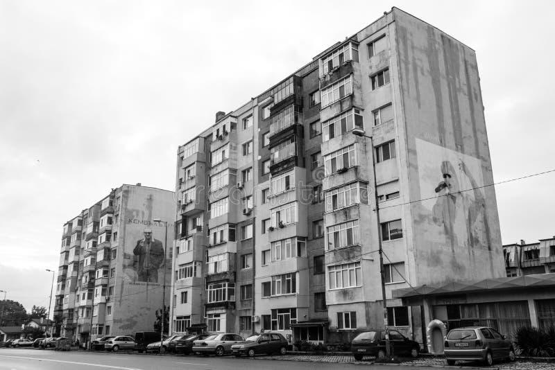 Beroemde gebouwen royalty-vrije stock afbeelding